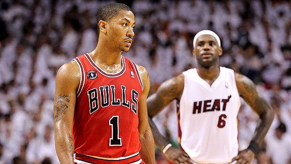 45881c040c15 How great would Derrick Rose have been if he never got hurt  - NBA