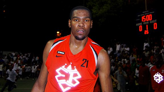 c1e8dc57440 Kevin Durant street games in New York show love of basketball