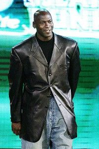 sale retailer 2fb84 971f7 Michael Jordan is introduced as a judge before the NBA Slam Dunk  Competition in 2007.