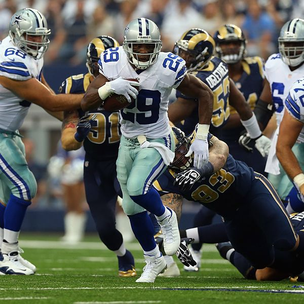 St. Louis Rams Add Run Defense To List Of Questions