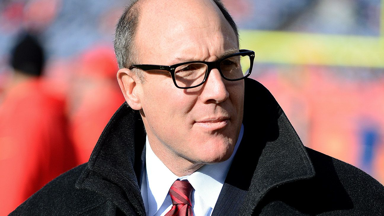 Before joining the Falcons, Scott Pioli served as the Patriots' vice president of player personnel and the Chiefs' general manager.
