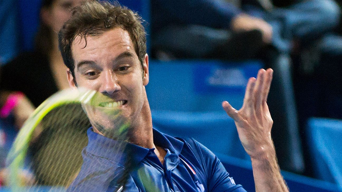 Reigning champ Gasquet reaches Montpelier final