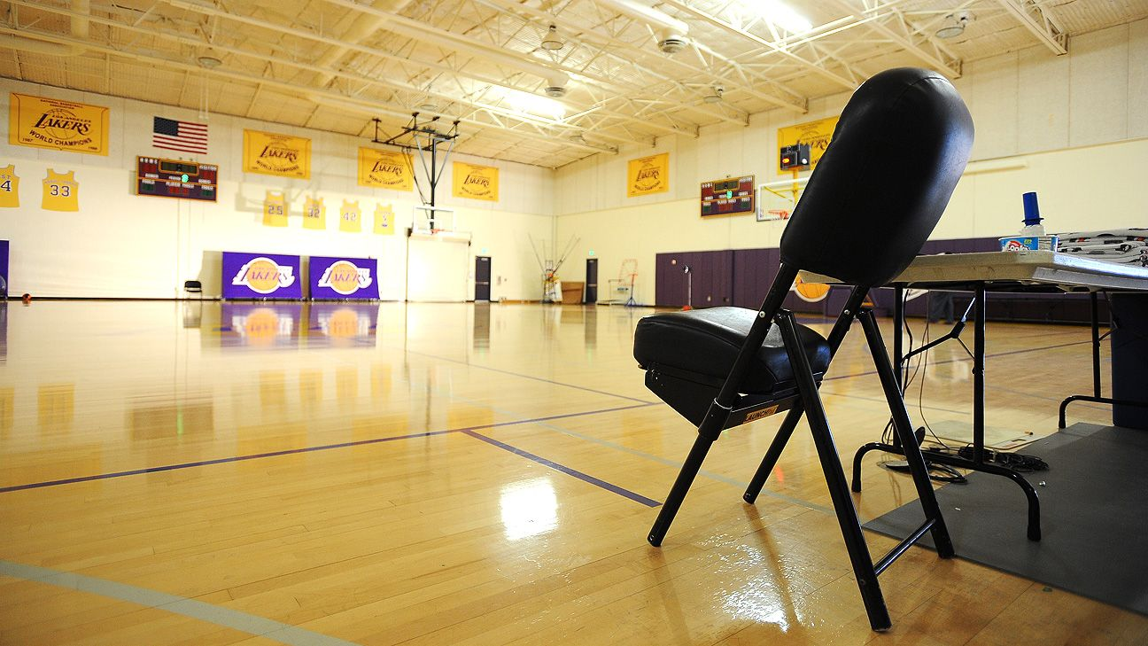 Lakers in touch with L.A. mayor's office about potential workouts