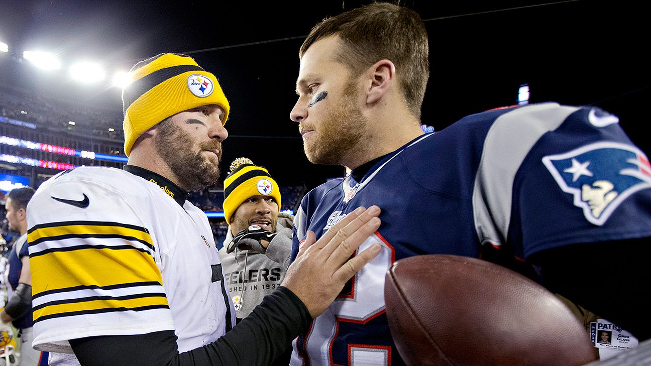 d279c6edd Ben Roethlisberger asks Tom Brady for his jersey to hang in his office - NFL  Nation- ESPN
