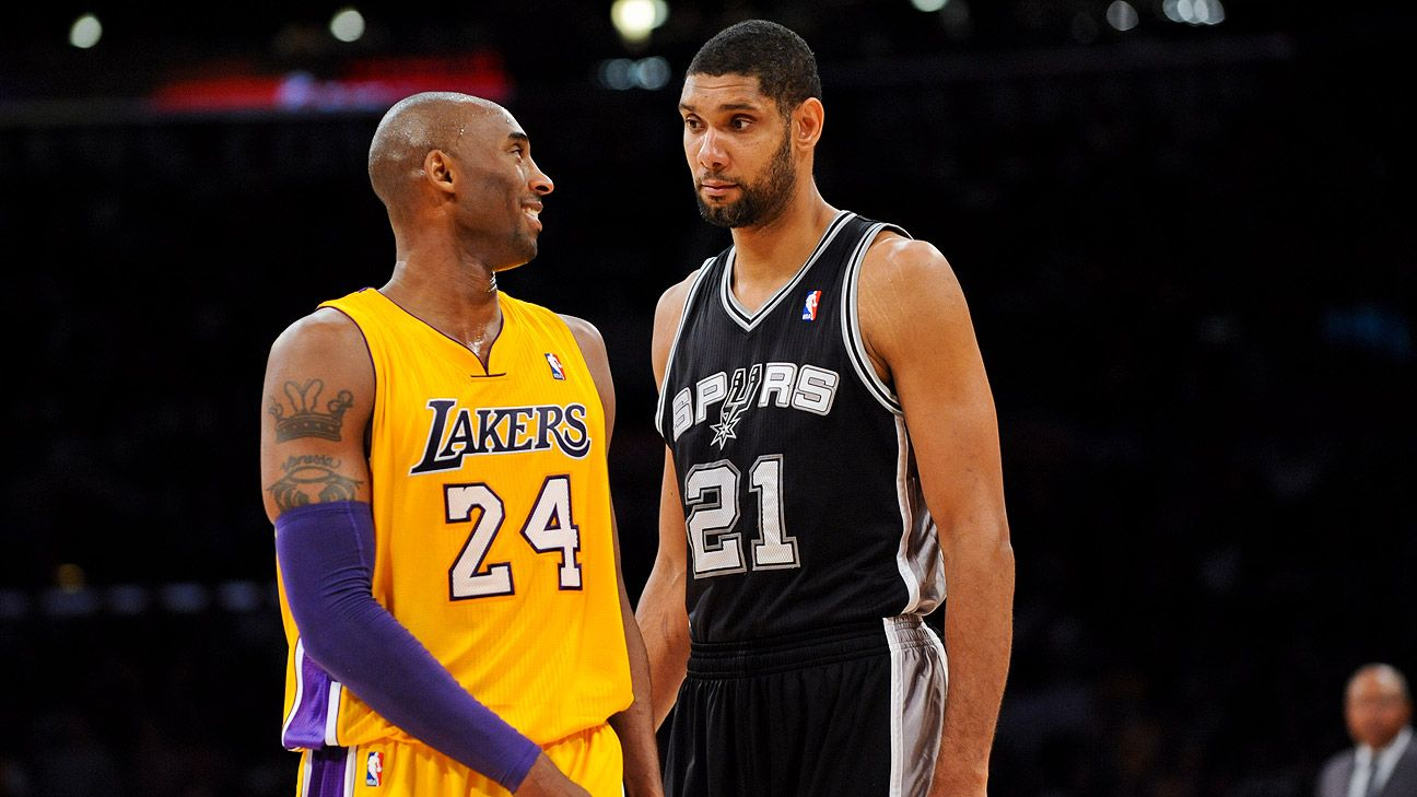 Los Angeles Lakers Legends Split On Kobe Bryant Tim Duncan Opinion
