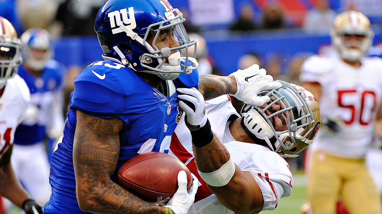 New York Giants -- Eli Manning let down Odell Beckham Jr.   the rest 51b8d66b7