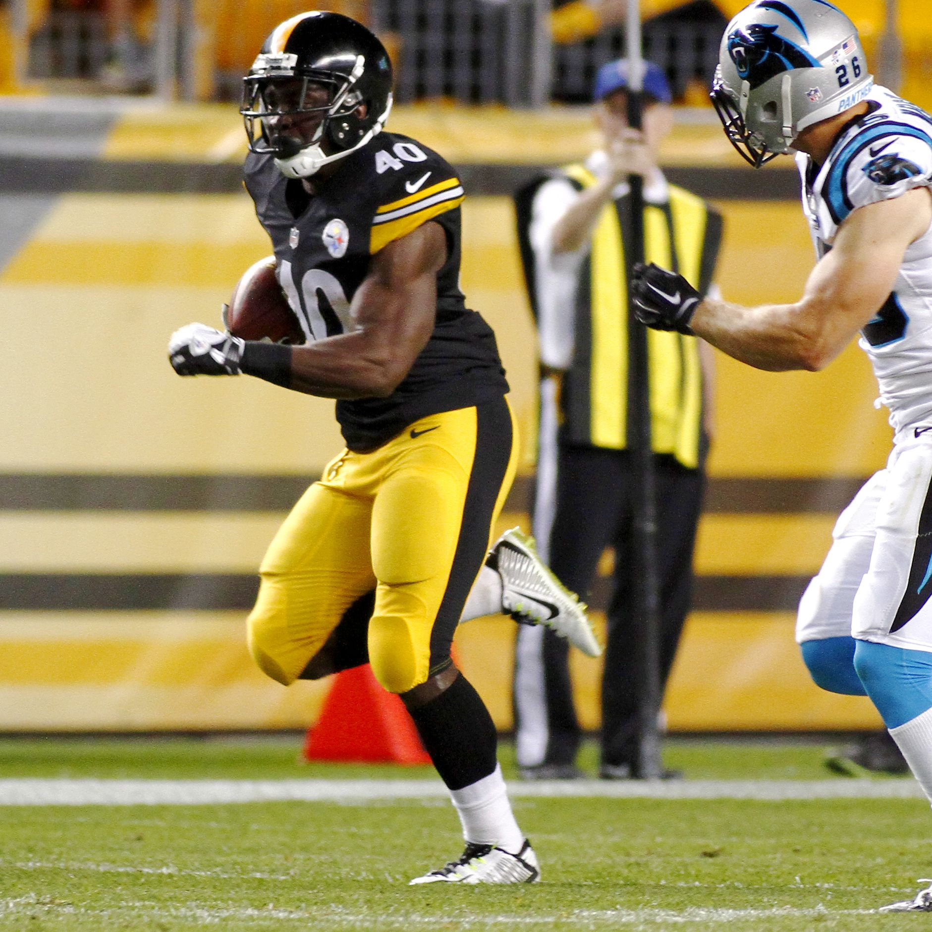 Steelers Running Back Josh Harris Ready To Make Most Of