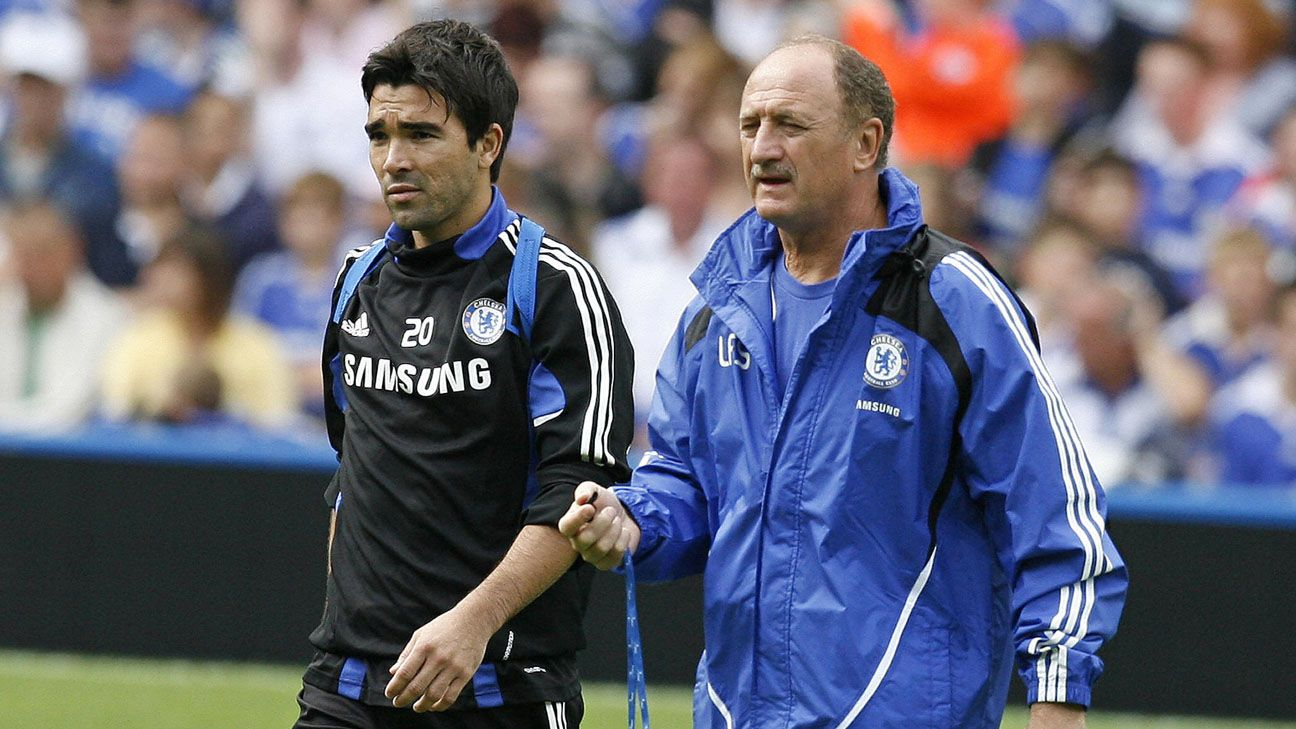 Former Chelsea star Deco important players complained to directors about  coach Luiz Felipe Scolari