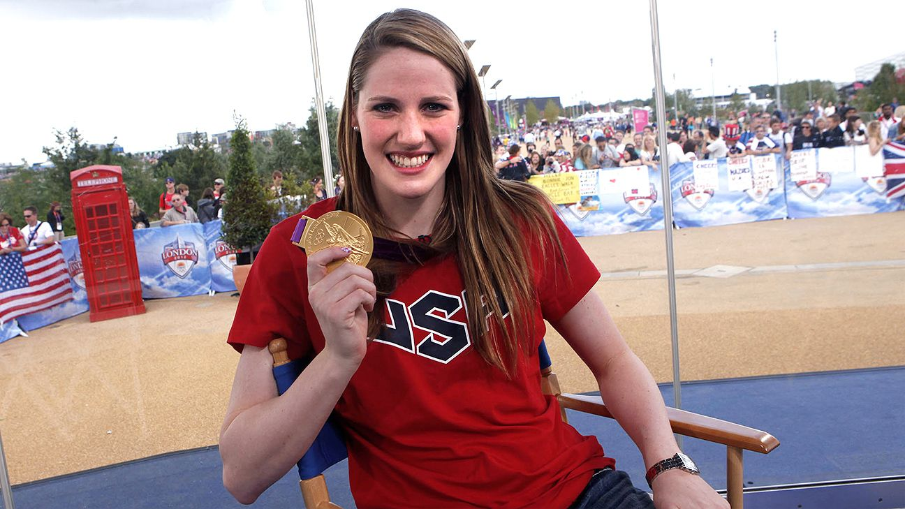 e722a5b158d Decorated swimmer Missy Franklin retires at 23