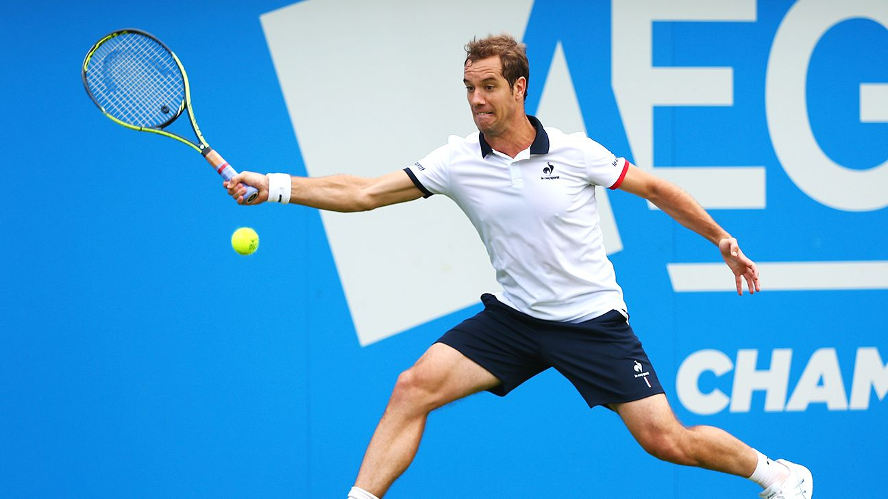 Gasquet breezes to reach Montpellier quarterfinals