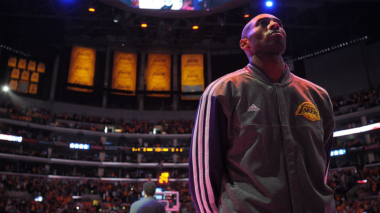 8655d2424da How Kobe Bryant s legacy forced the Los Angeles Lakers to retire two  numbers - NBA