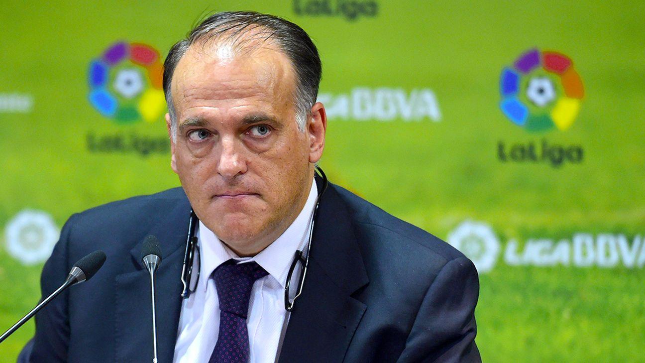 Image result for Javier Tebas