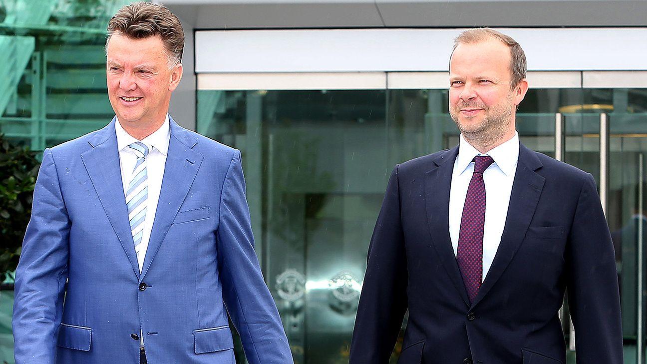 Van Gaal Still Feels Support From Man United CEO Ed Woodward