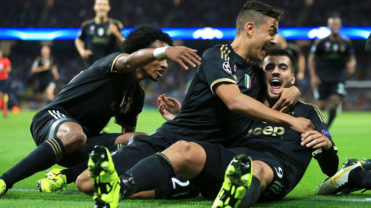 Manchester City Vs Juventus Football Match Report September 15 2015 Espn
