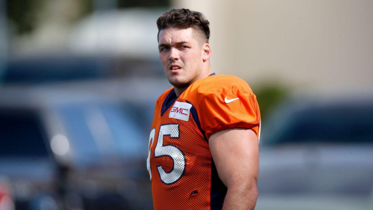 3072daaf9 Derek Wolfe of Denver Broncos has persevered to get to Super Bowl - NFL