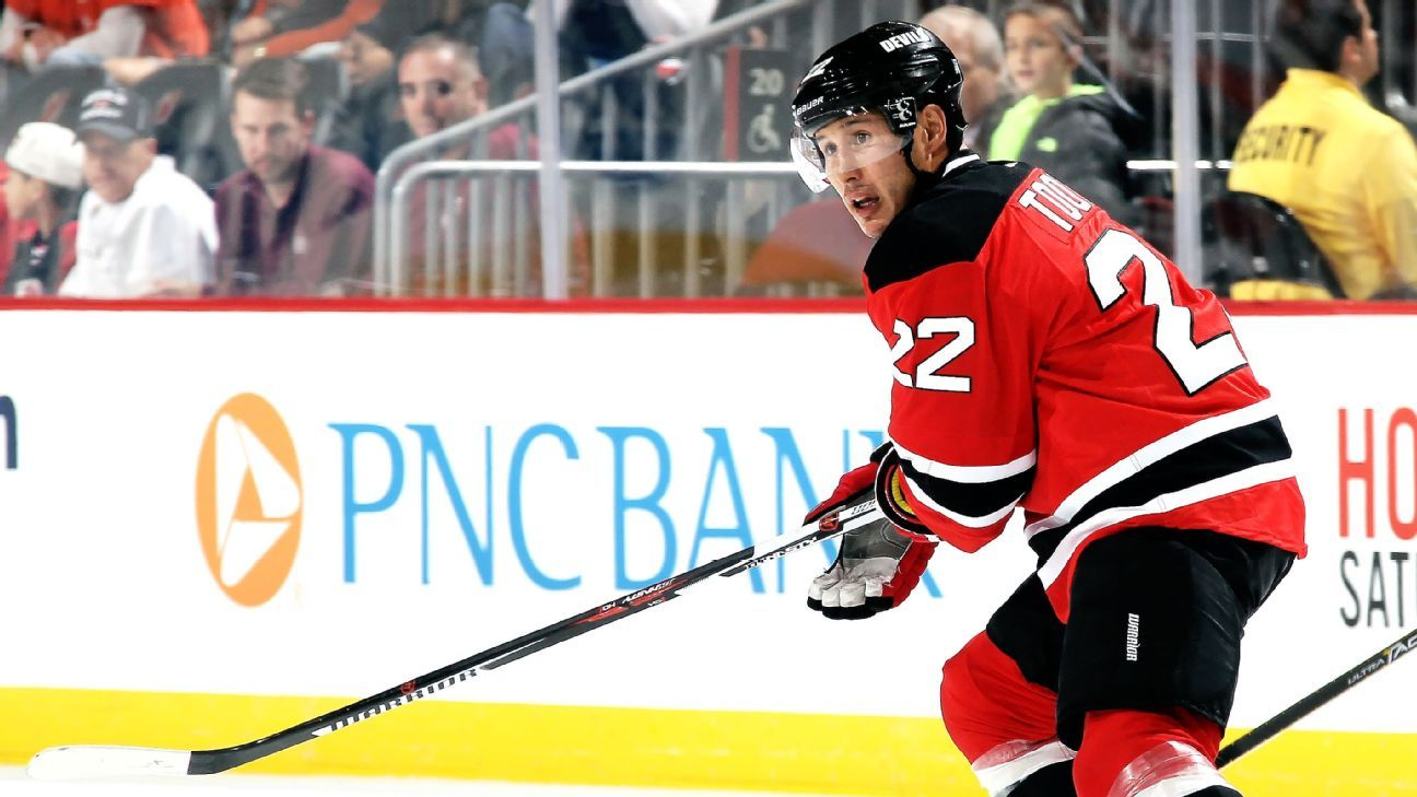 premium selection ddb35 d00d6 Jordin Tootoo of New Jersey Devils fined $2,000 for diving