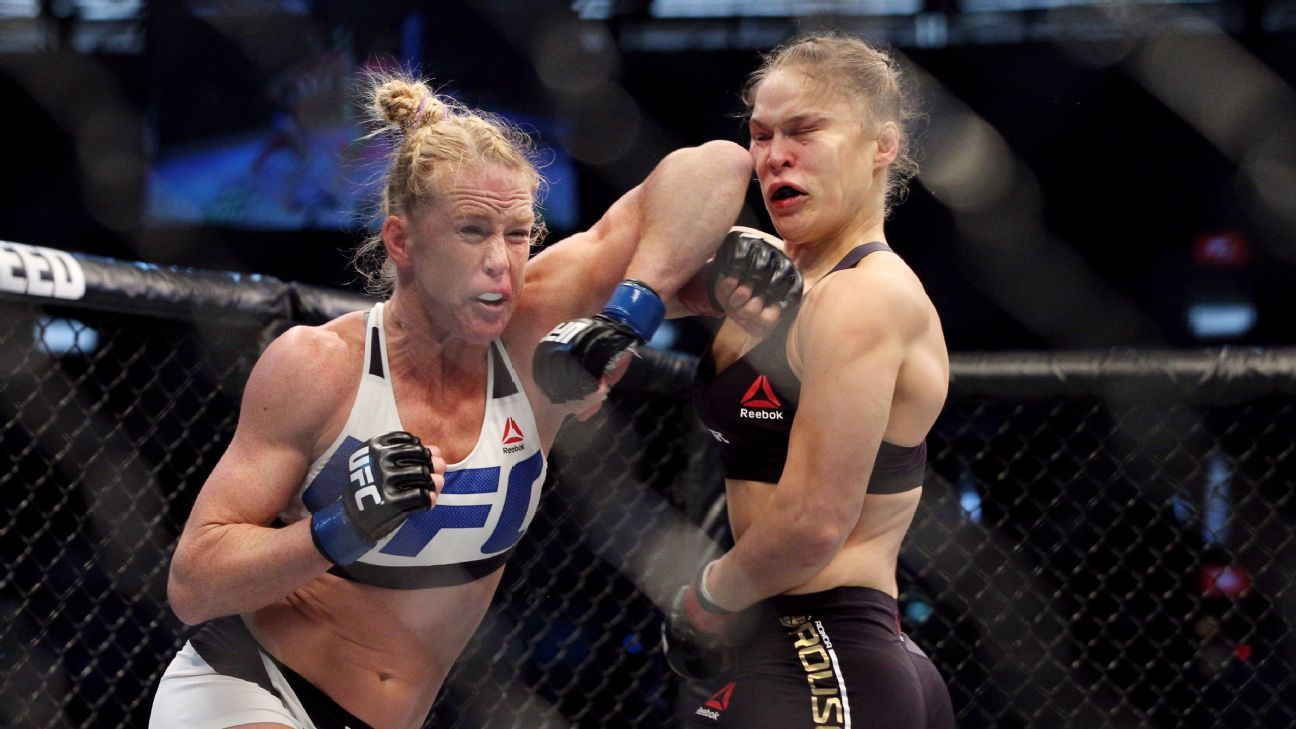 Dana White: My Best Promoted Fight is Holly Holm vs. Ronda