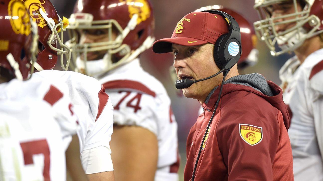 Pat Haden's USC legacy will be written by Clay Helton