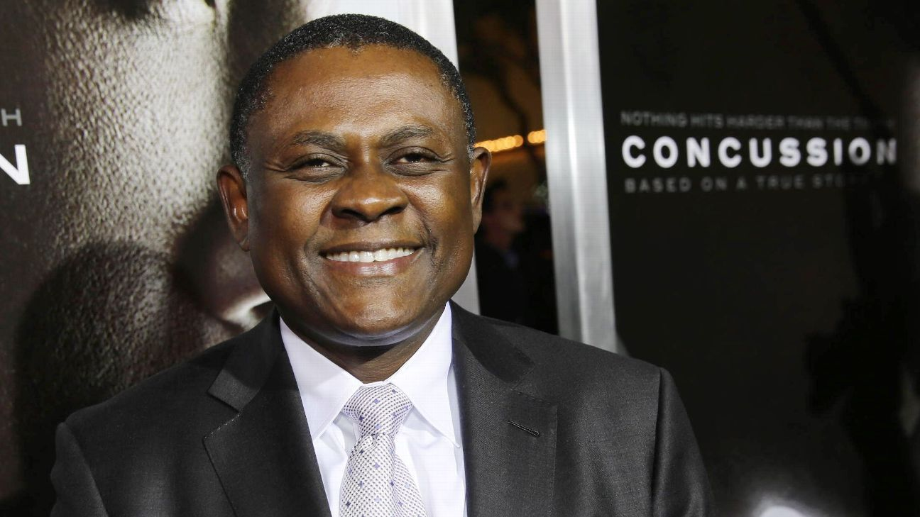 Concussion Doctor Says Kids Shouldnt >> Dr Bennet Omalu Says Obsession With Cte Obscuring Larger Truth