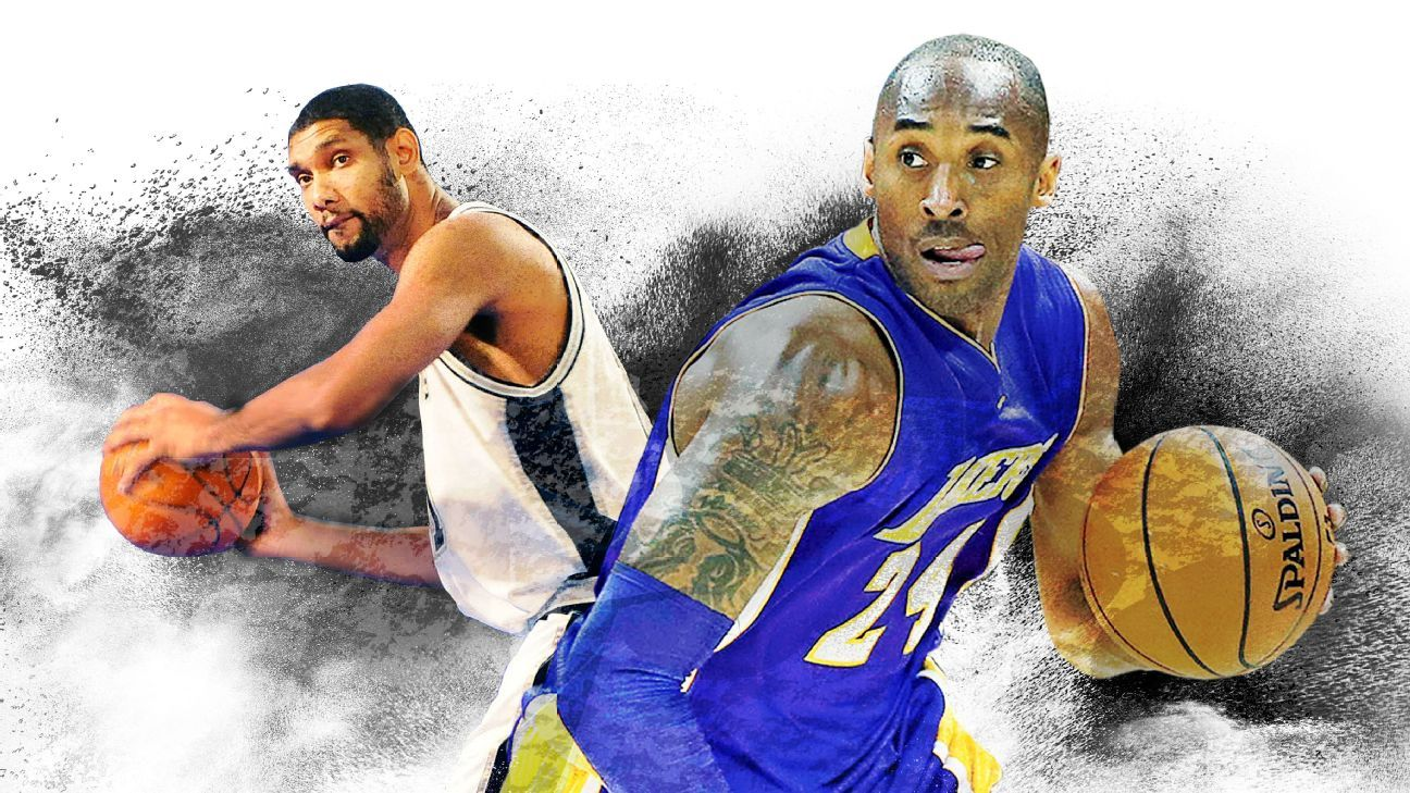 991fd40742a Vote  Who has a better legacy -- Kobe Bryant or Tim Duncan