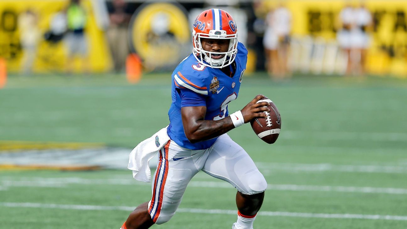 Source: Gators QB Harris working out at WR