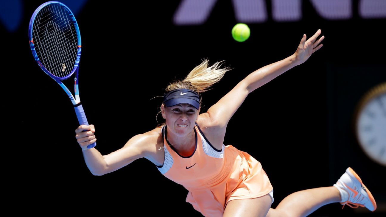 Sharapova to play doubles in Fed Cup vs. Dutch