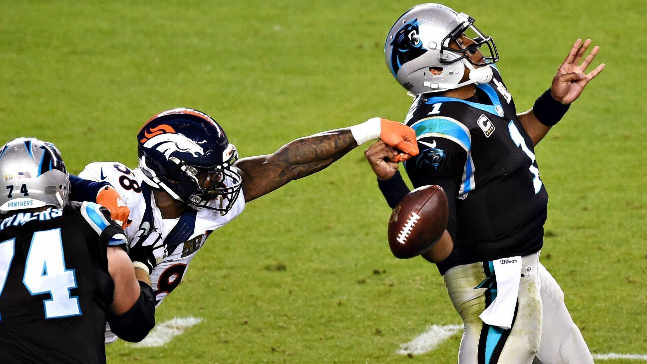 Super Bowl 50 -- Von Miller of Denver Broncos named Most Valuable Player b4d05d1ad