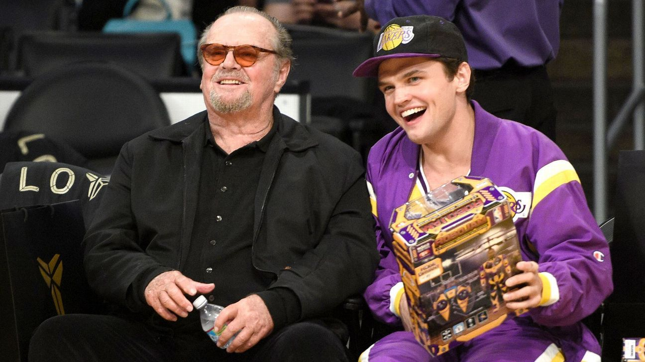 A friend as well as a fan, Jack Nicholson remembers Kobe for 'just how great a player he was'