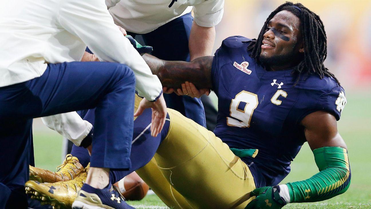 80caf6e9 How Jaylon Smith became a hopeful mystery -- 2016 NFL draft