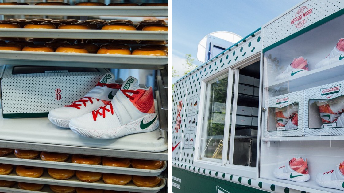buy online abeca 3a336 Nike rolls out  Ky-rispy Kreme  truck, headed to Cleveland