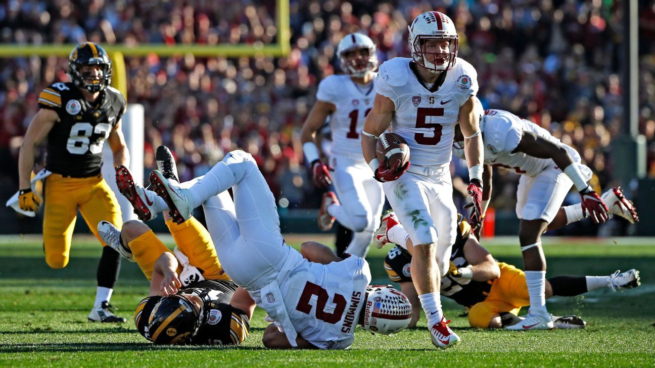 Stanford ripping up the rulebook for McCaffrey's offseason regimen