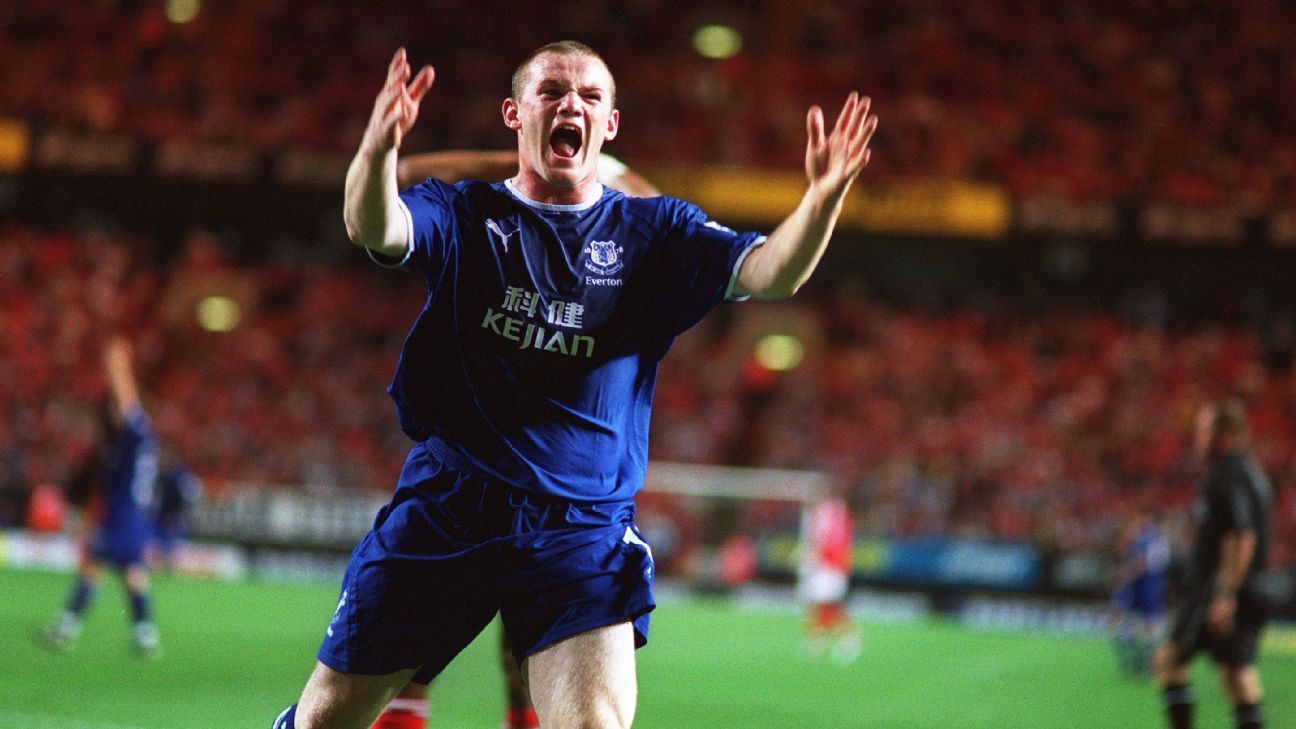 f88ce94f168 The seven stages of Wayne Rooney  Prodigy to professional at Man United