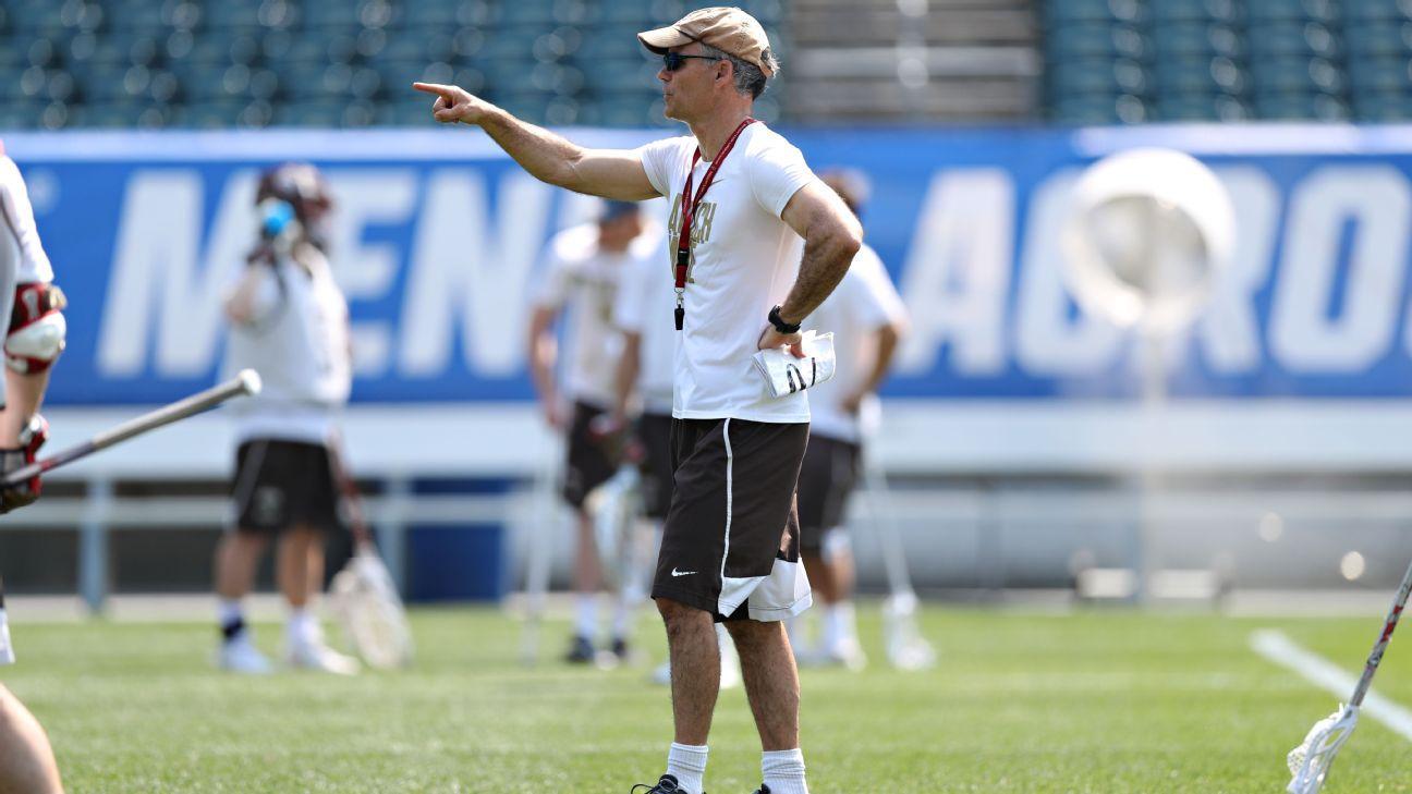 Virginia men's lax names Brown's Tiffany coach