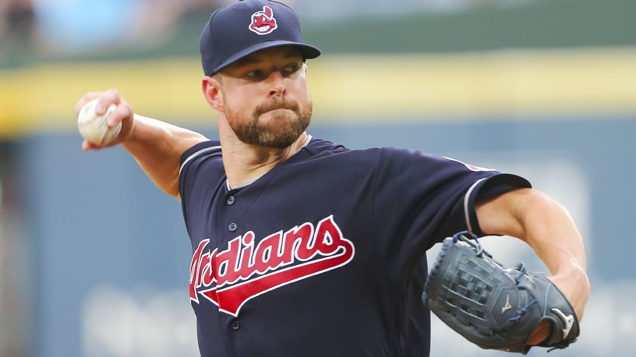 Indians to pick up option on Corey Kluber, to decline on Jason Kipnis