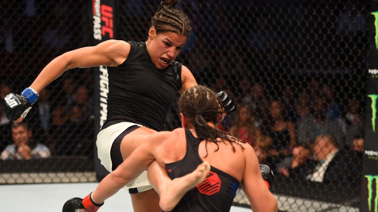 Ahead of UFC 200, Julianna Pena says, 'My job is to be a gladiator'