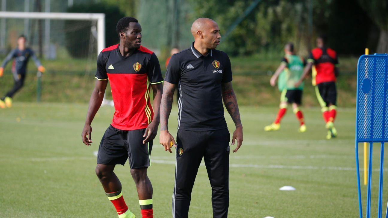 e5719aa92 Belgium s Romelu Lukaku very pleased with Thierry Henry s impact