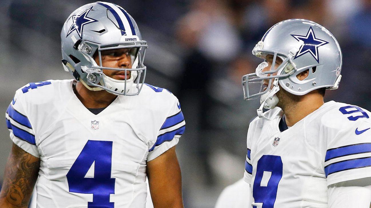 Do analytics say the Cowboys should stick with Prescott ...