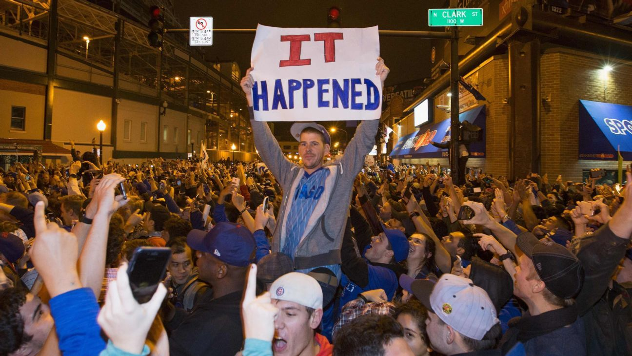 584b946a1 Chicago Cubs fans celebrate Game 7 victory but mourn those who missed out