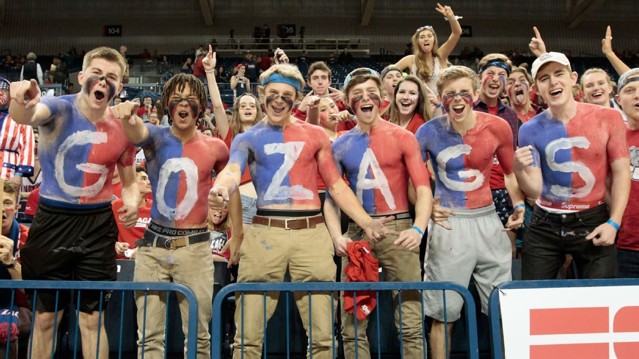It is a picture of Critical Printable Gonzaga Basketball Schedule