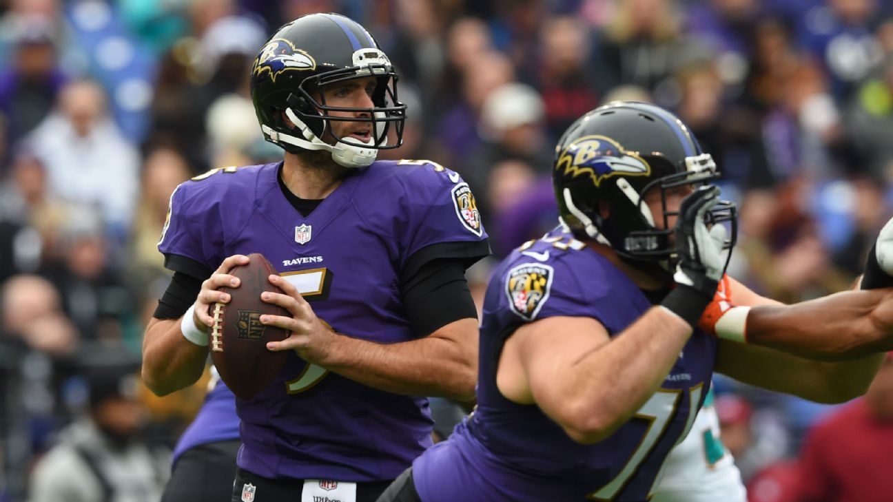 Are Ravens taking big risk by playing Joe Flacco in meaningless game?