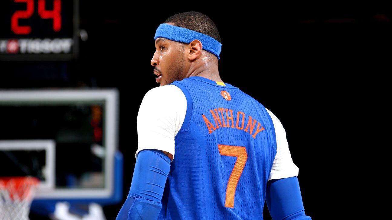 buy online 4f02c abb8e New York Knicks  Carmelo Anthony stuns family with car for Christmas -  Knicks Blog- ESPN