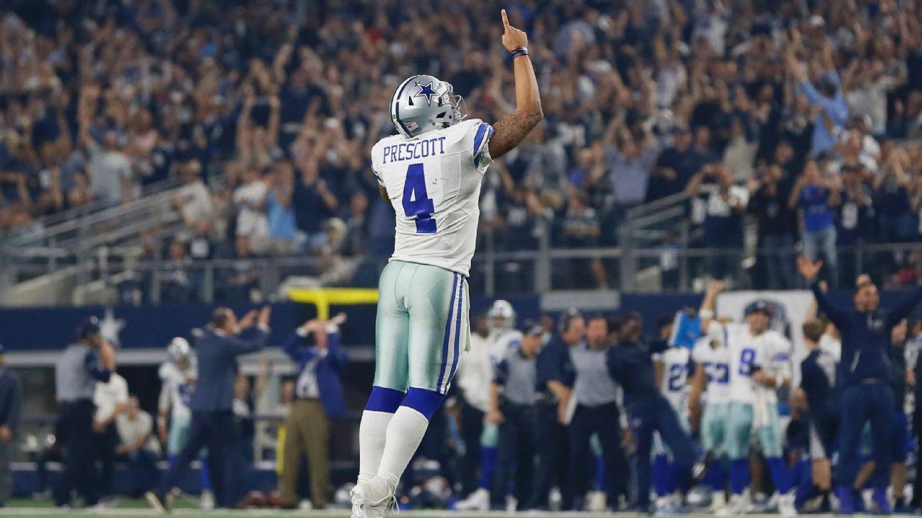 c99c0391f Dak Prescott s superstar traits make him Dallas Cowboys most valuable  weapon 2016 NFL playoffs
