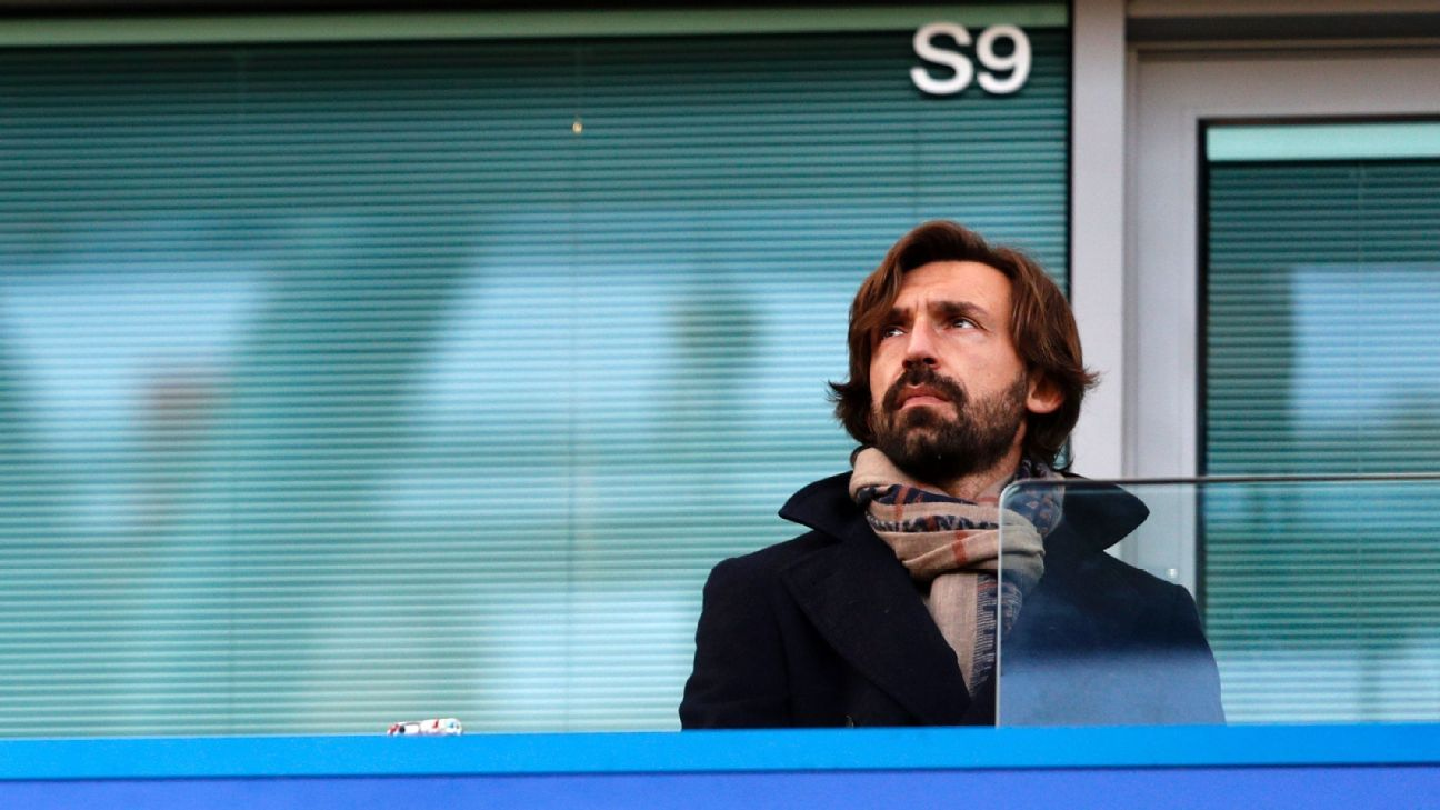 Conte dismisses Pirlo to Chelsea rumours
