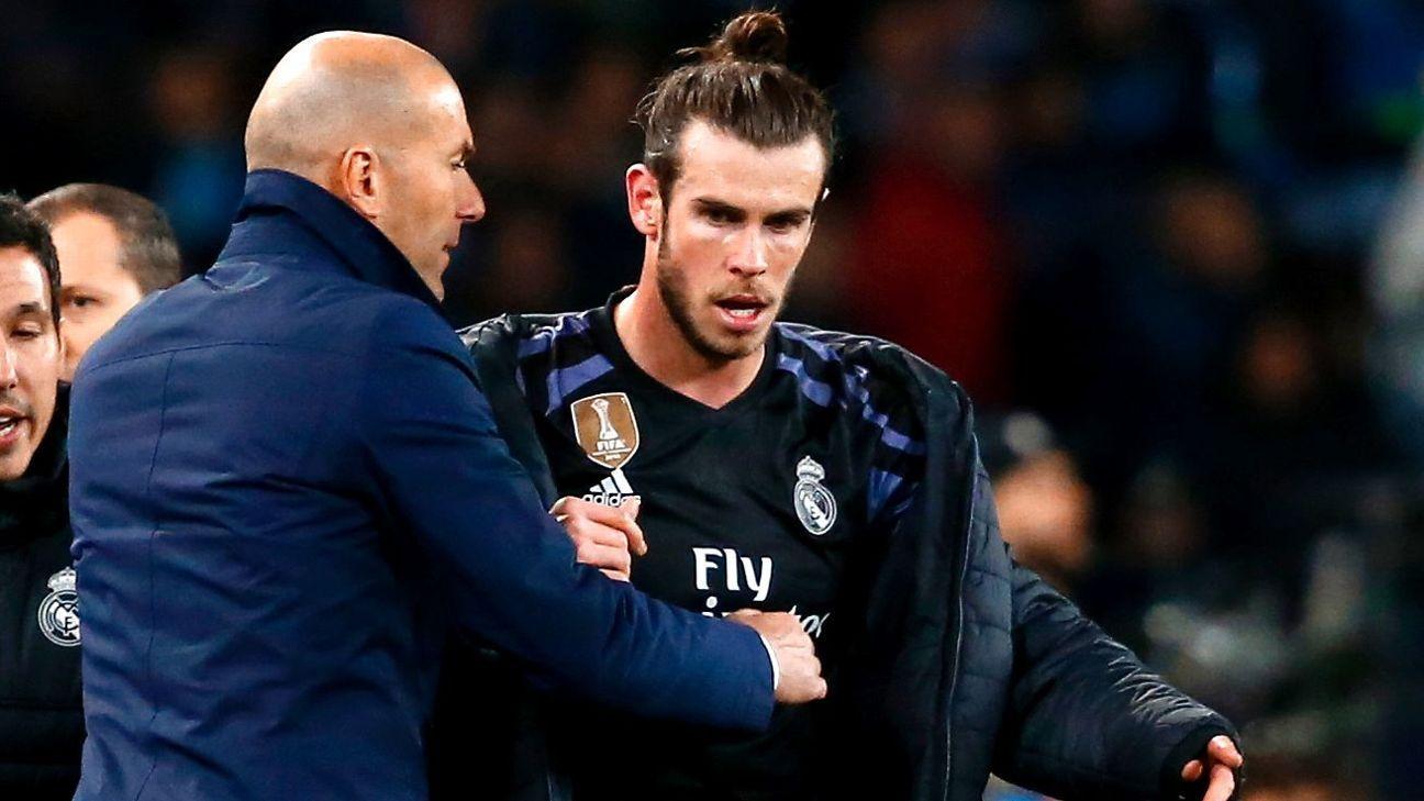Zidane blames 'suspect Spanish' on Bale saga
