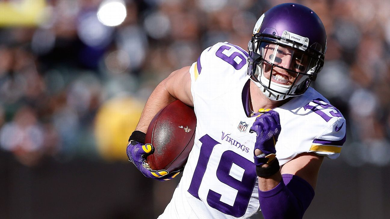 Thelen Bay City >> Adam Thielen, with new contract, becoming an example for ...