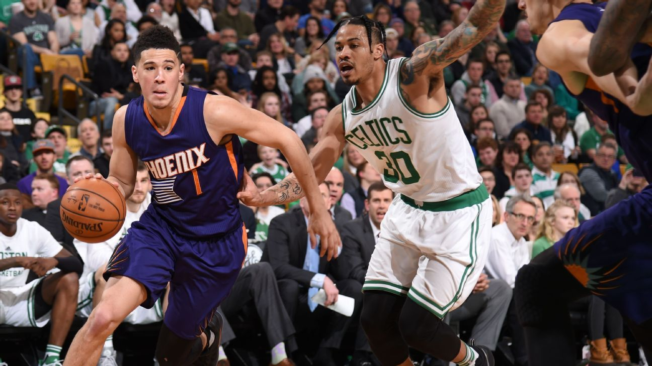 95adbfafb Devin Booker of Phoenix Suns scores 70 points in loss to Boston Celtics