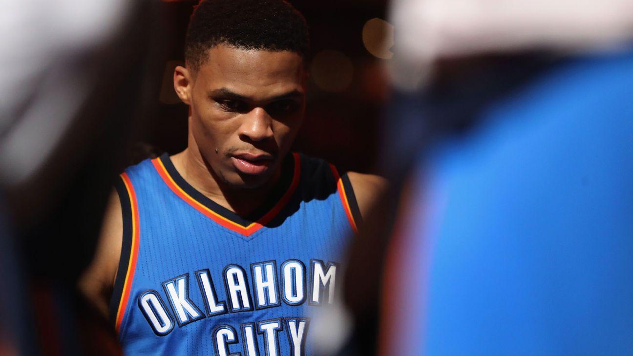 71b9c52e347 NBA - The leader inside the Oklahoma City Thunder s Russell Westbrook