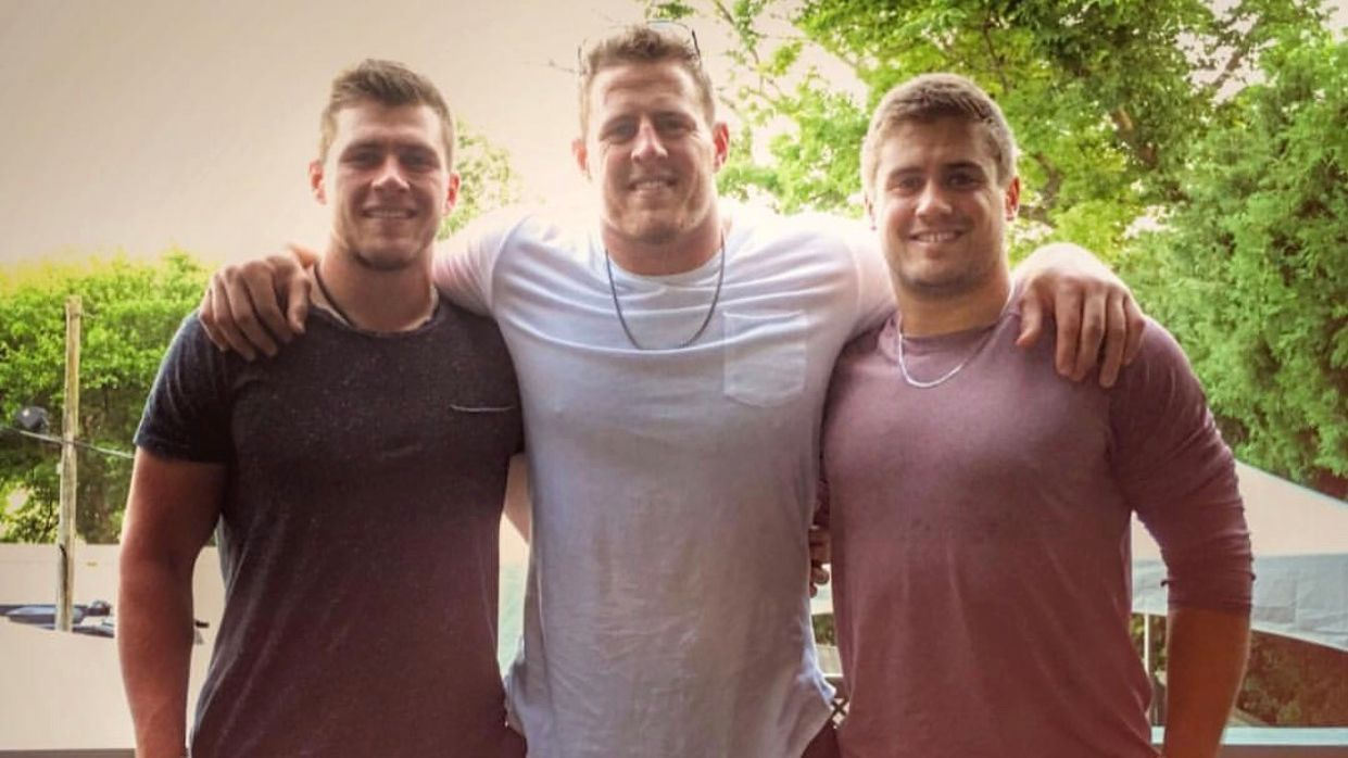 J.J. Watt to younger brothers Derek and T.J.  No cut-blocks - AFC North-  ESPN 637ac99d4