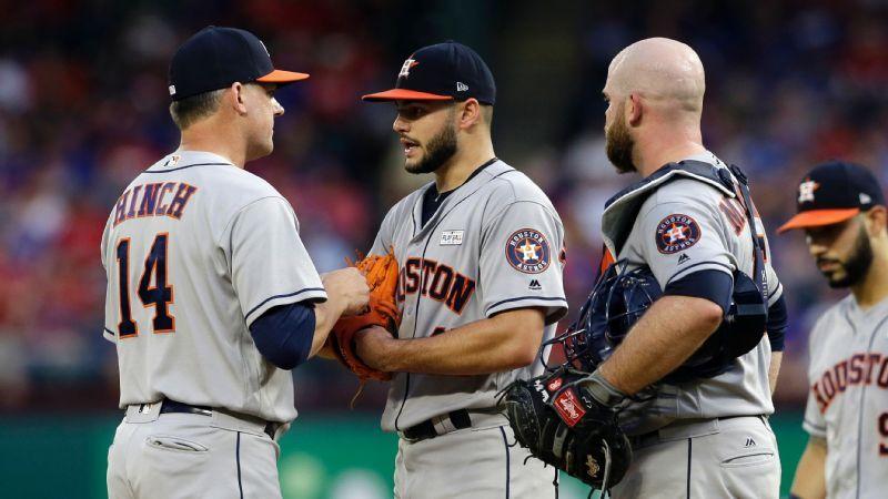 Power Rankings de MLB  Astros en el tope 3925b08c207