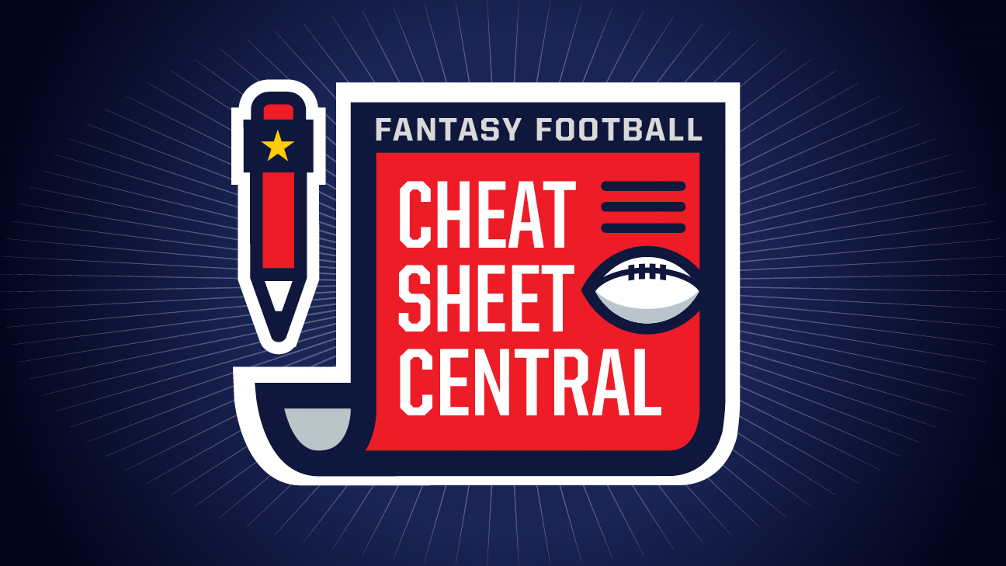 Fantasy Football Cheat Sheets 2018 Player Rankings Draft Board